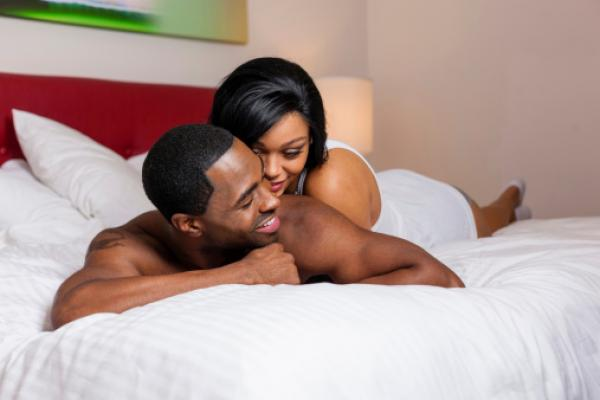 Couple africain adorable