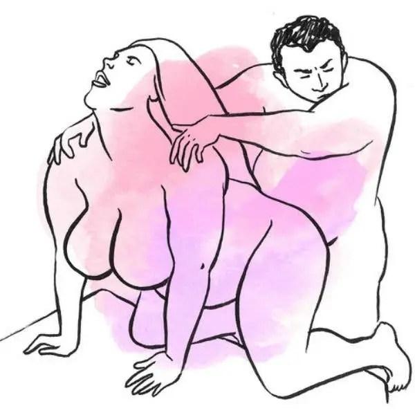 Voici les meilleures positions pour les filles qui ont des rondeurs