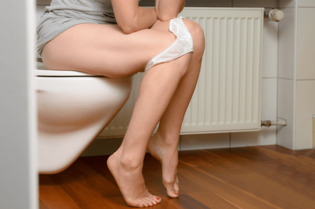 femme urine