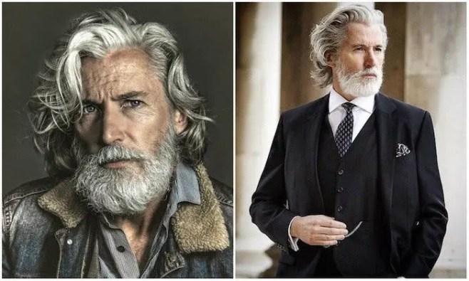 homme a transformé son corps après l'âge de 50 ans
