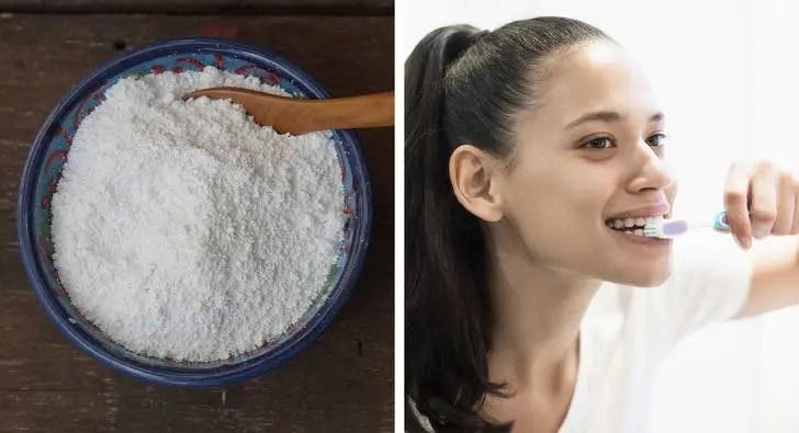 gengibre e sal ajudam a clarear os dentes