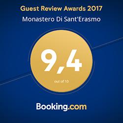 Monastero di S Erasmo - Guest Review Award copia