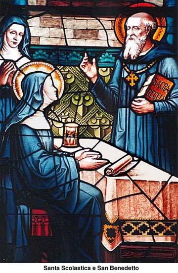 St. Benedict and St. Scholastica