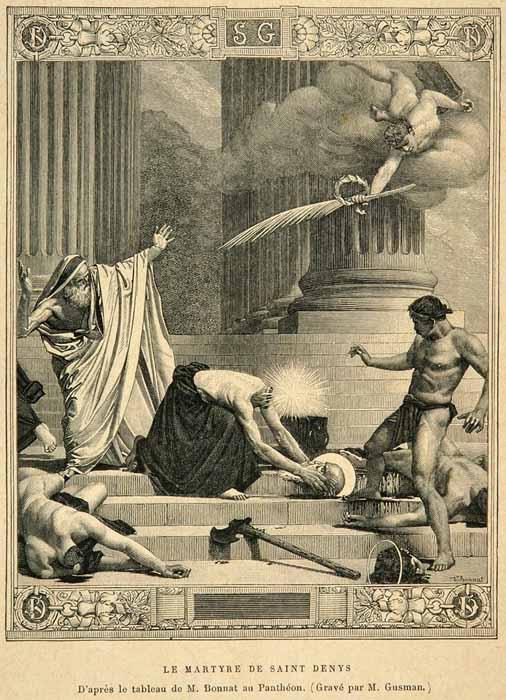 saint-denis décapité