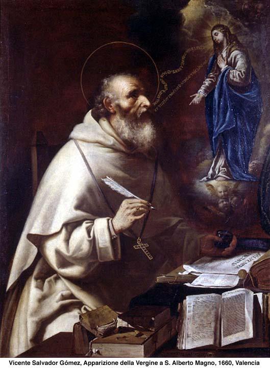 Santi e Beati Memoria di oggi Sant Alberto Magno Vescovo e dottore della Chiesa  Alla