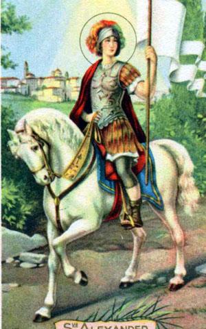mučenec Aleksander