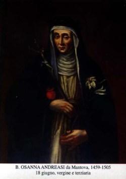 blažena Hozana Andreasi - devica in redovnica