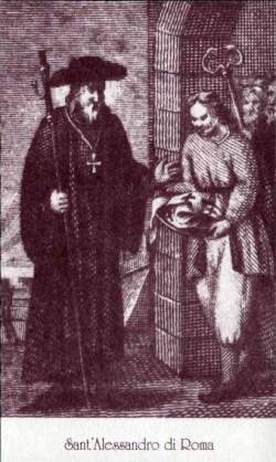 sveti Aleksander Rimski - mučenec
