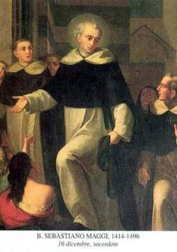 blaženi Sebastijan Maggi - duhovnik in redovnik