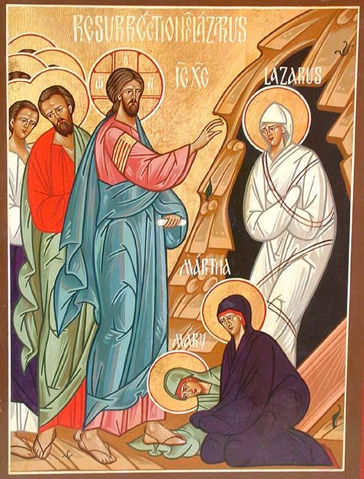 Lazar in Marija iz Betanije
