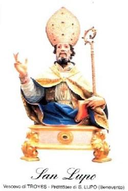 sveti Lup - škof