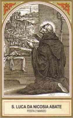 sveti Luka Casali - menih in opat