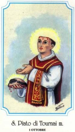 sveti Piaton - duhovnik in mučenec