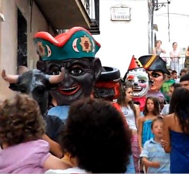 Los Cabezudos, Agosto de 2009