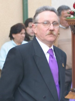 Pedro Medina Pérez, Pregonero Cofradía de la Stma Virgen 2010