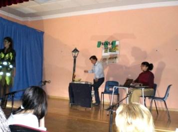 Representación Teatral ¿Y Ahora Qué? - Navas de San Juan 2010 - Blog La Raíz
