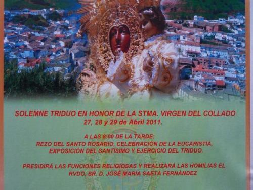 Cartel Solemne Triduo 2011