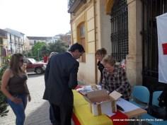Juan Diego Requena, tras tomar posesión como nuevo alcalde visita la mesa