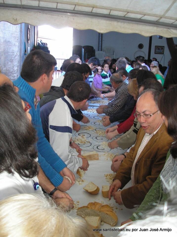 Preparando el Trigo para el Molino 2012