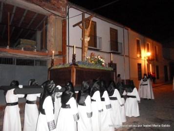 Cruz Guía a su paso por Calle Calvario