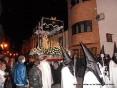 Virgen de los Dolores y San Juan Evangelista en calle Sagasta