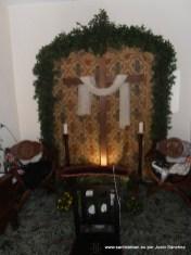 Cruz de Maria Dolores Paredes Plaza, C/ Calvario 22 (TERCER PREMIO INTERIOR)