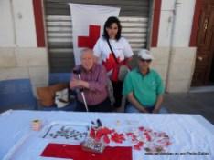 Banderita 2012, mesa de la calle Sagasta.