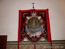 Cuadro de Nuestra Señora del Collado, antes de la fiesta de Pentecostés.