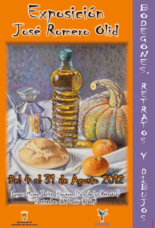 Exposición José Romero 2012, Bodegones, Retratos y Dibujos