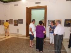 Público visitando la exposición.