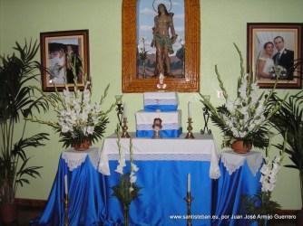 Altar a San Sebastián