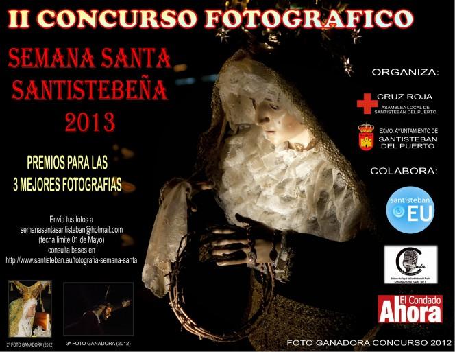 Cartel II Concurso de Fotografía de Semana Santa 2013