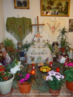 Cruz de Matilde Salido Guerrero. C/ Pollos, 14.