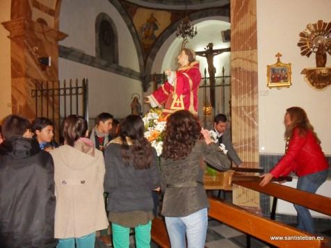 Fin de la Procesión de San Esteban 2013