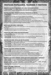 Programa de Festejos Pascuamayo 2014