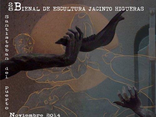 Cartel XXVIII Bienal Escultura Jacinto Higueras 2014