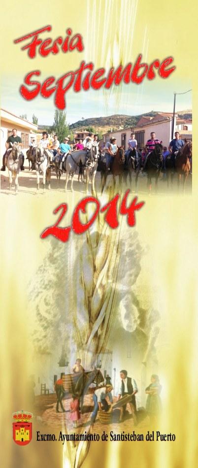 Folleto Feria Septiembre 2014 - 1