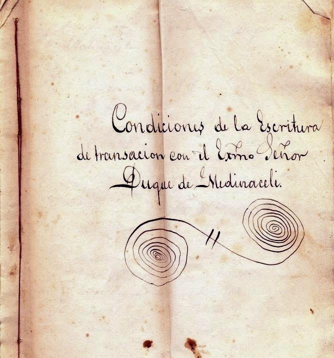 Escritura de Concordia. 1798