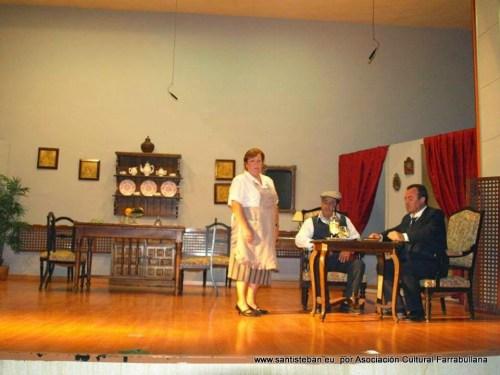 Representación de la obra Los Marqueses de Matute, del 27 de septiembre