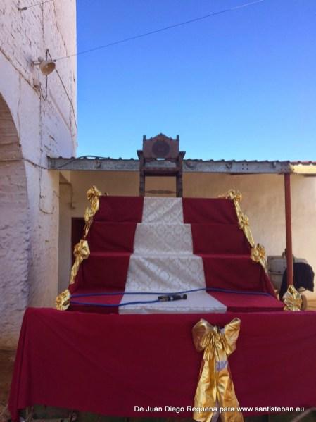 Preparación de la Cabalgata de Reyes 2015