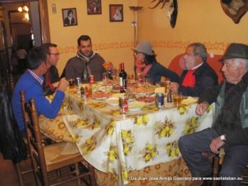 Autoridades celebran con la familia Moreno Pozo la víspera de San Sebastián
