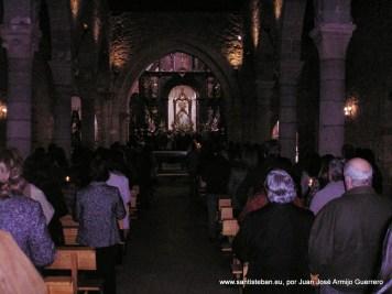 Procesión Claustral el día de la Candelaria
