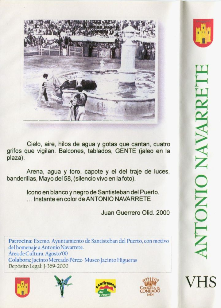 Contraportada Homenaje Antonio Navarrete