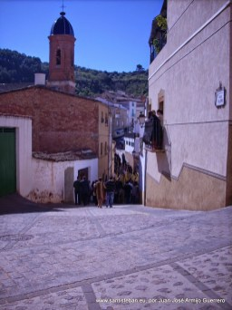 Domingo de Ramos. Procesión de Palmas camino al templo San Esteban