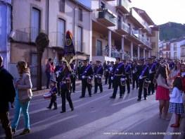Domingo de Ramos. Banda de CC y TT Ntr Padre Jesús Nazareno y Stma. Virgen de la Amargura acompañando a la Borriquilla
