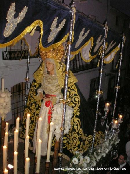 Madrugá de Viernes Santo. Virgen de la Amargura