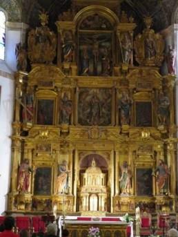 Retablo de la parroquial de Sta. María de los Olmos de Torre de Juan Abad.