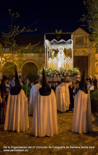 Segundo Premio III Concurso Fotografía Semana Santa Santisteban, Gema Aranda. Fotografía 52.