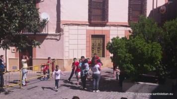 Pascuamayo chico, domingo 17 de mayo, calentando motores para las fiestas.