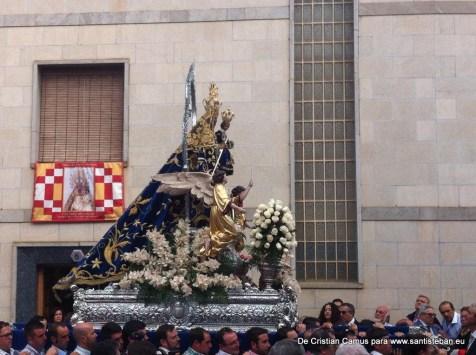 Subida de la Virgen y el Cuadro a Santa María, Pascuamayo 2015
